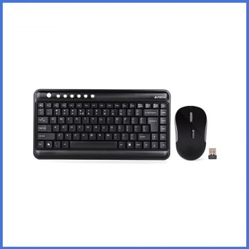 A4 Tech 3300N Wireless Keyboard With Pad less Mouse