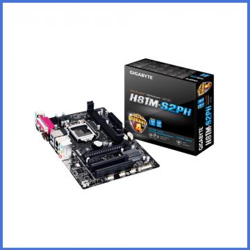 Gigabyte GA-H81M-S2PH Micro ATX Motherboard