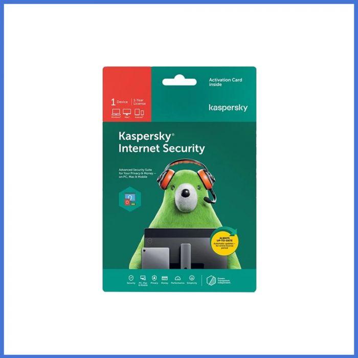Kaspersky Internet Security 2021 (1 User | 1 Year License | PC / Mac)
