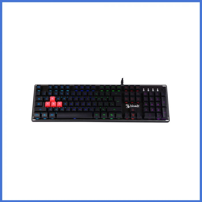 A4 Tech Bloody B180R Black USB RGB Gaming Keyboard
