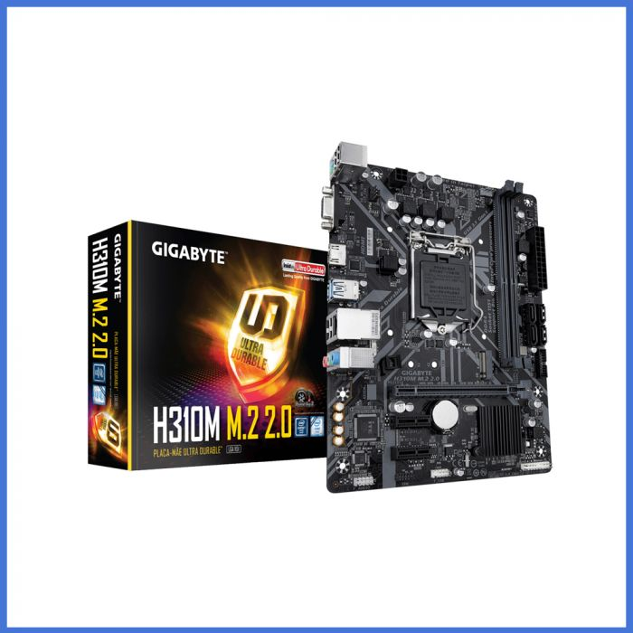 Gigabyte H310M M.2 Micro ATX Motherboard