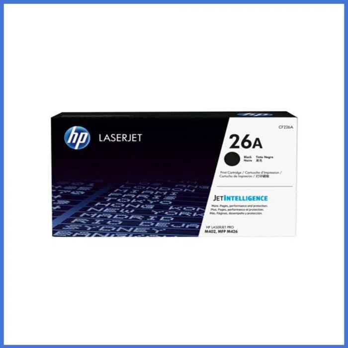HP 26A Black Original LaserJet Toner (For CF226A)