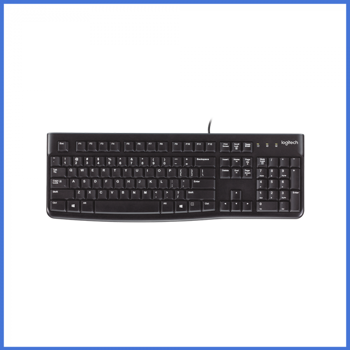 Logitech K120 Corded USB Keyboard With Bangla