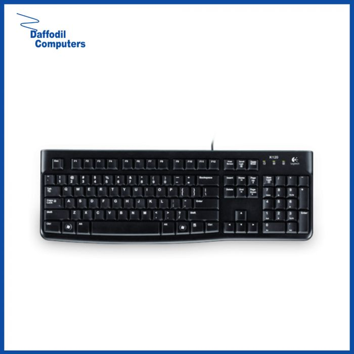 Logitech K120 USB Keyboard with Bangla