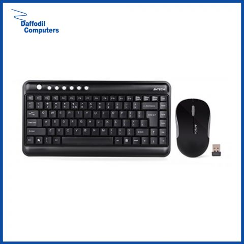 A4 Tech 3300N Wireless Keyboard With Padless Mouse